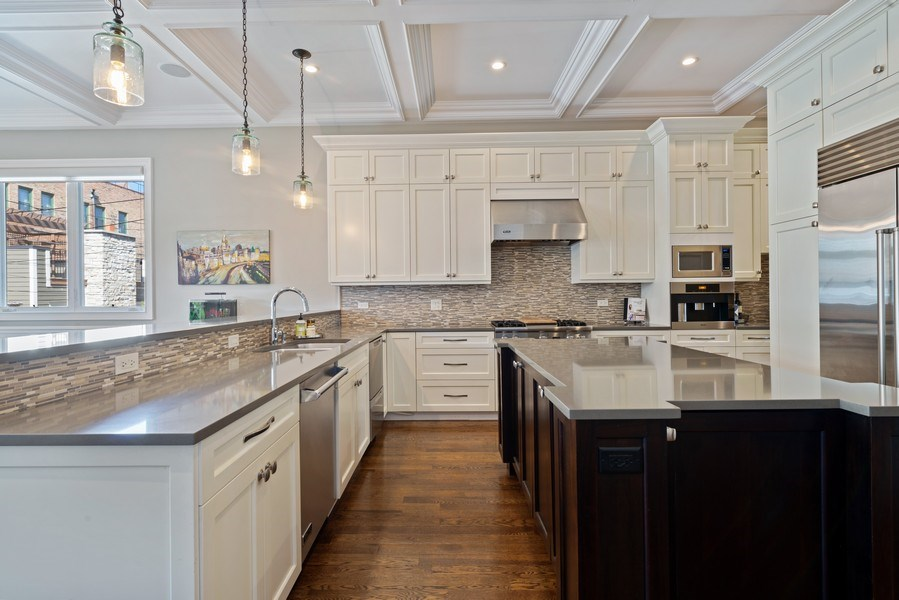 Real Estate Photography - 1312 W Barry, Chicago, IL, 60657 - Kitchen