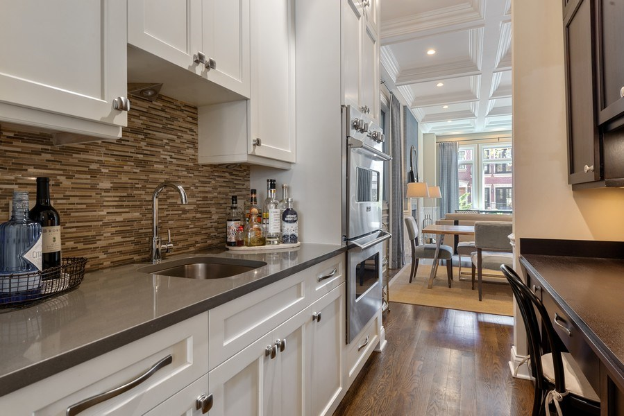 Real Estate Photography - 1312 W Barry, Chicago, IL, 60657 - Butler's Pantry