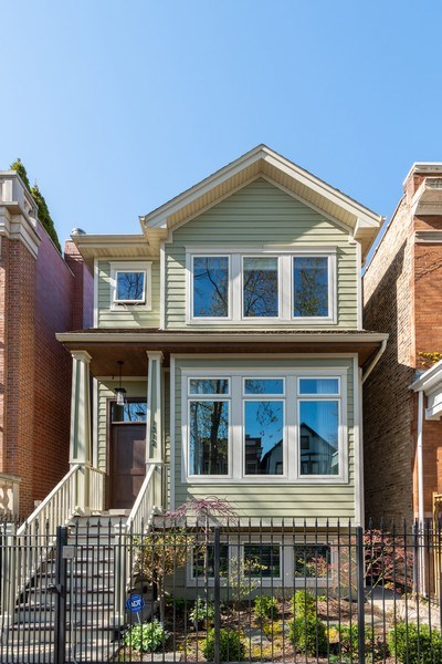 Real Estate Photography - 1312 W Barry, Chicago, IL, 60657 - Front View