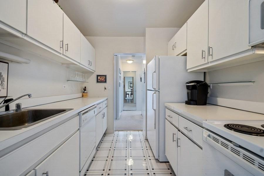 Real Estate Photography - 111 E Chestnut, Unit 44B, Chicago, IL, 60611 - Kitchen