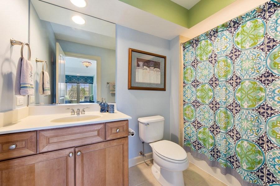Real Estate Photography - 22393 North Prairie Lane, Kildeer, IL, 60047 - 3rd Bathroom