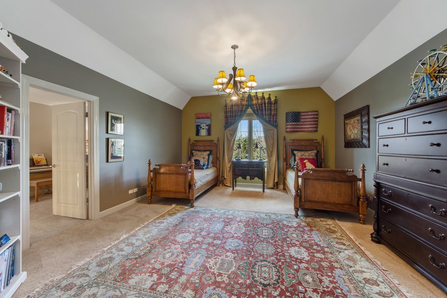 Real Estate Photography - 22393 North Prairie Lane, Kildeer, IL, 60047 - 2nd Bedroom