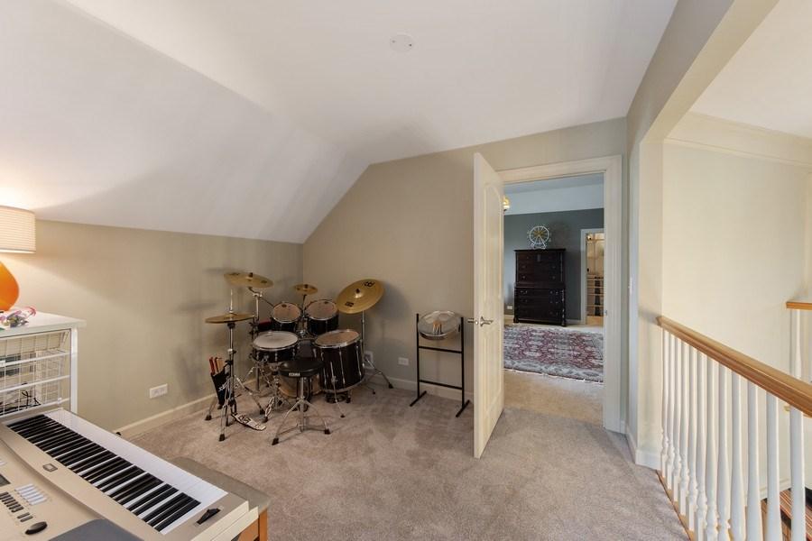 Real Estate Photography - 22393 North Prairie Lane, Kildeer, IL, 60047 - Bonus Room