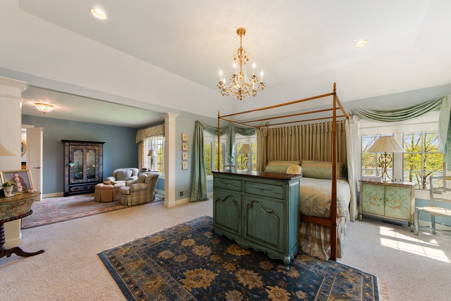 Real Estate Photography - 22393 North Prairie Lane, Kildeer, IL, 60047 - Master Bedroom