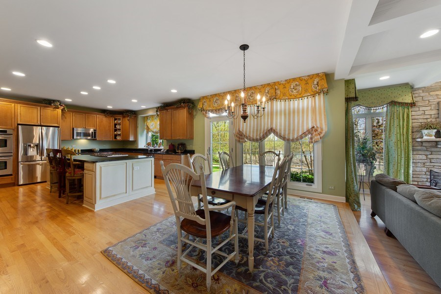Real Estate Photography - 22393 North Prairie Lane, Kildeer, IL, 60047 - Kitchen / Breakfast Room