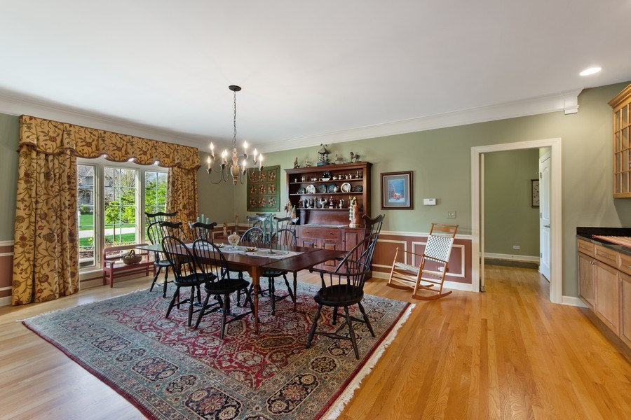 Real Estate Photography - 22393 North Prairie Lane, Kildeer, IL, 60047 - Dining Room