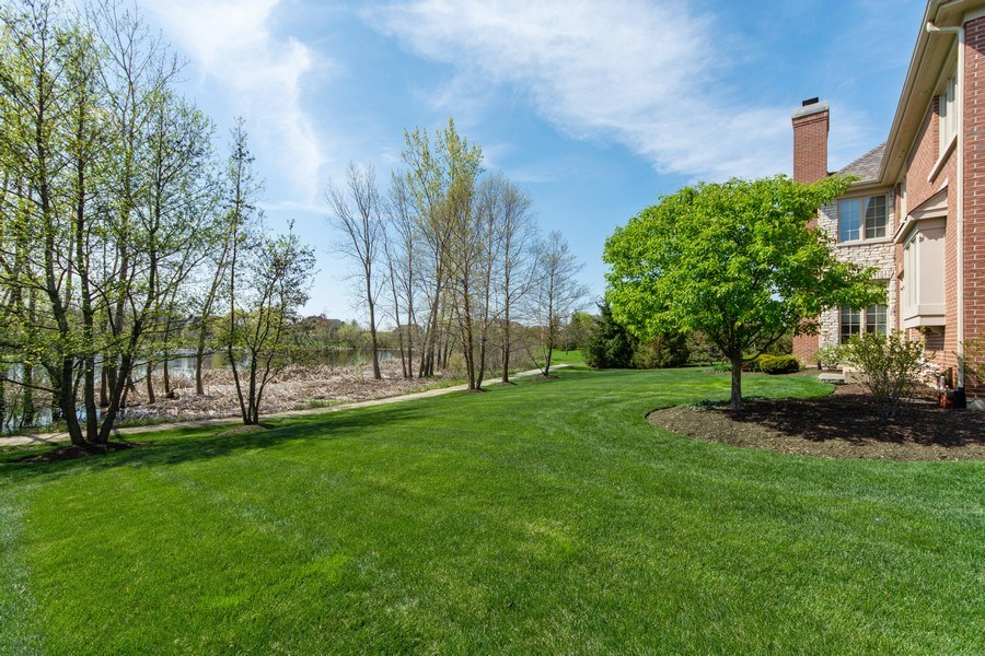 Real Estate Photography - 22393 North Prairie Lane, Kildeer, IL, 60047 - Back Yard