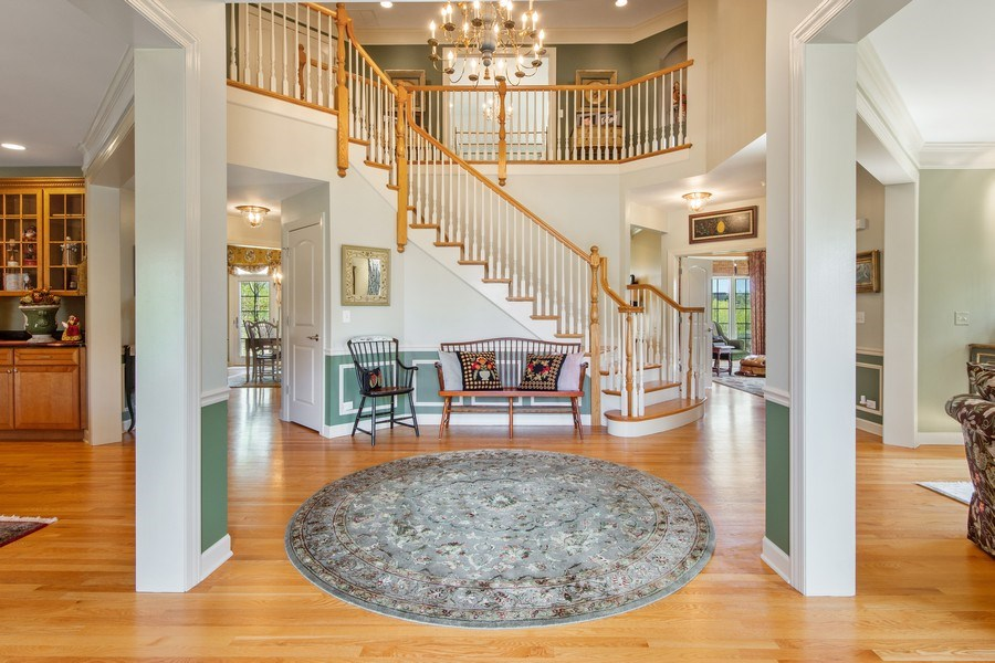 Real Estate Photography - 22393 North Prairie Lane, Kildeer, IL, 60047 - Foyer