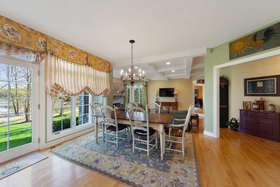 Real Estate Photography - 22393 North Prairie Lane, Kildeer, IL, 60047 - Breakfast Area