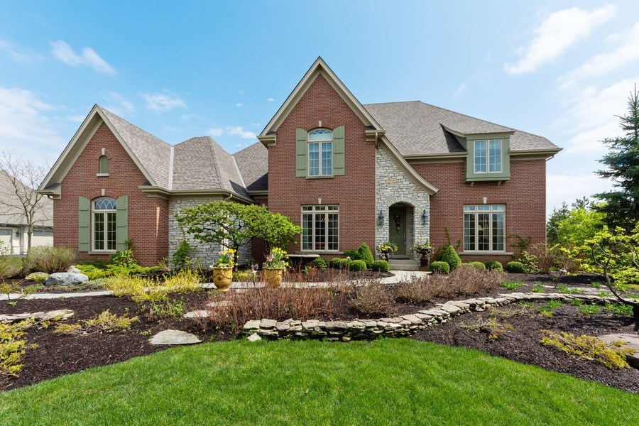 Real Estate Photography - 22393 North Prairie Lane, Kildeer, IL, 60047 - Front View