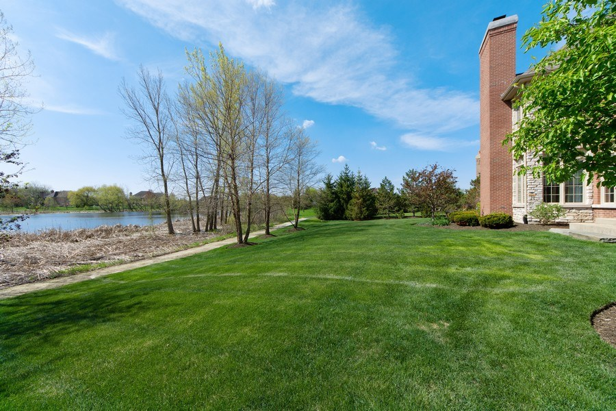 Real Estate Photography - 22393 North Prairie Lane, Kildeer, IL, 60047 - Lake View