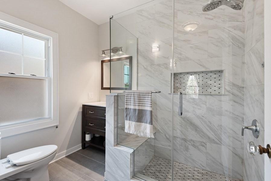 Real Estate Photography - 2246 Ridge, Evanston, IL, 60201 - Master Bathroom