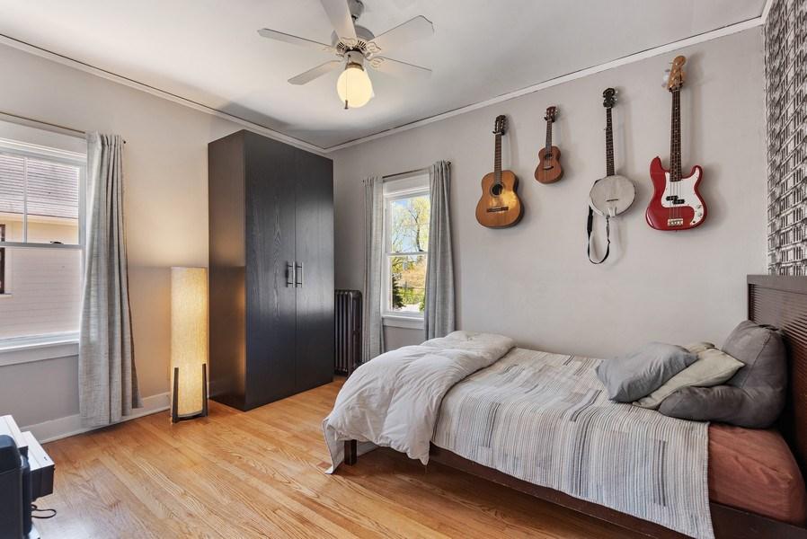 Real Estate Photography - 2246 Ridge, Evanston, IL, 60201 - 2nd Bedroom