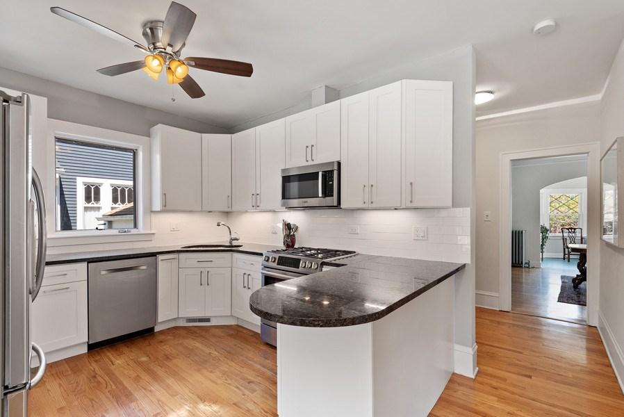 Real Estate Photography - 2246 Ridge, Evanston, IL, 60201 - Kitchen