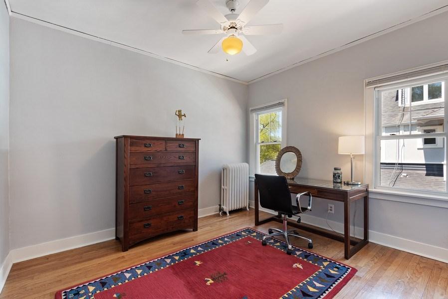 Real Estate Photography - 2246 Ridge, Evanston, IL, 60201 - Bedroom