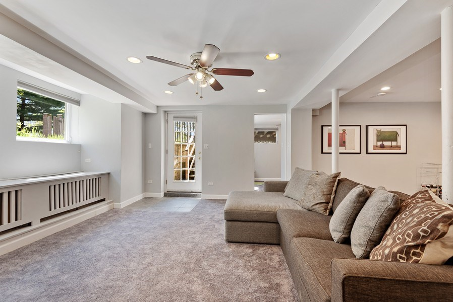Real Estate Photography - 2246 Ridge, Evanston, IL, 60201 - Recreational Room