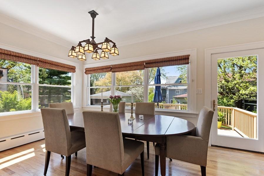 Real Estate Photography - 2246 Ridge, Evanston, IL, 60201 - Dining Room