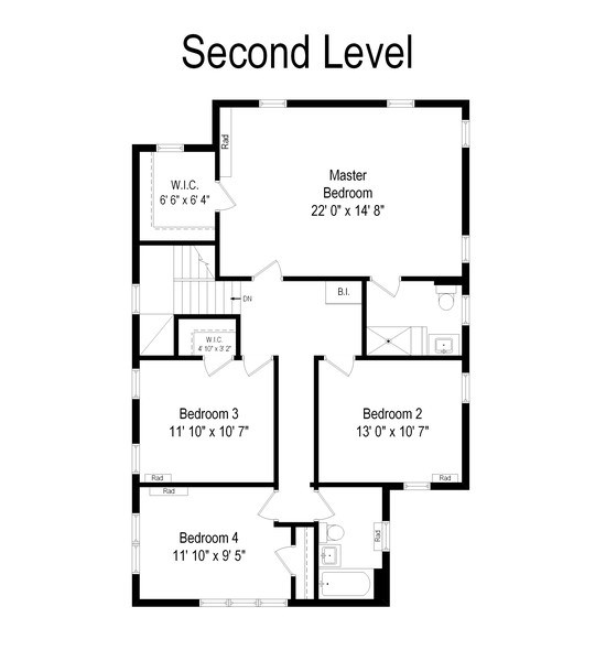 Real Estate Photography - 2246 Ridge, Evanston, IL, 60201 - Floor Plan