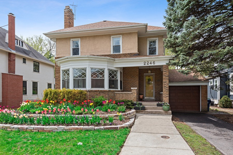 Real Estate Photography - 2246 Ridge, Evanston, IL, 60201 - Front View