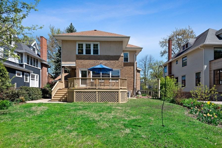 Real Estate Photography - 2246 Ridge, Evanston, IL, 60201 - Rear View