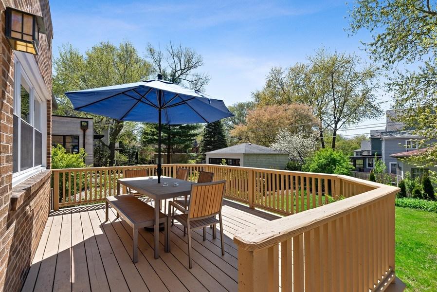 Real Estate Photography - 2246 Ridge, Evanston, IL, 60201 - Deck