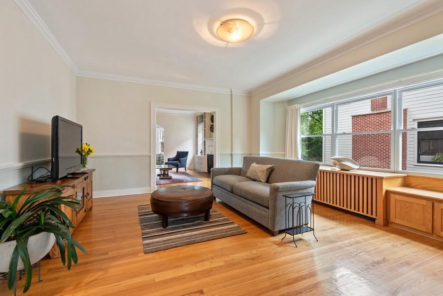 Real Estate Photography - 2246 Ridge, Evanston, IL, 60201 - Family Room