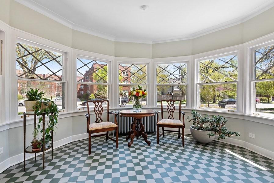 Real Estate Photography - 2246 Ridge, Evanston, IL, 60201 - Sun Room