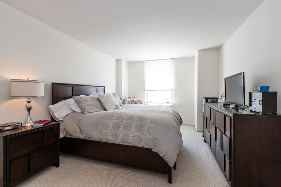 Real Estate Photography - 525 W Hawthorne Pl Unit 1001, Chicago, IL, 60657 - 2nd Bedroom