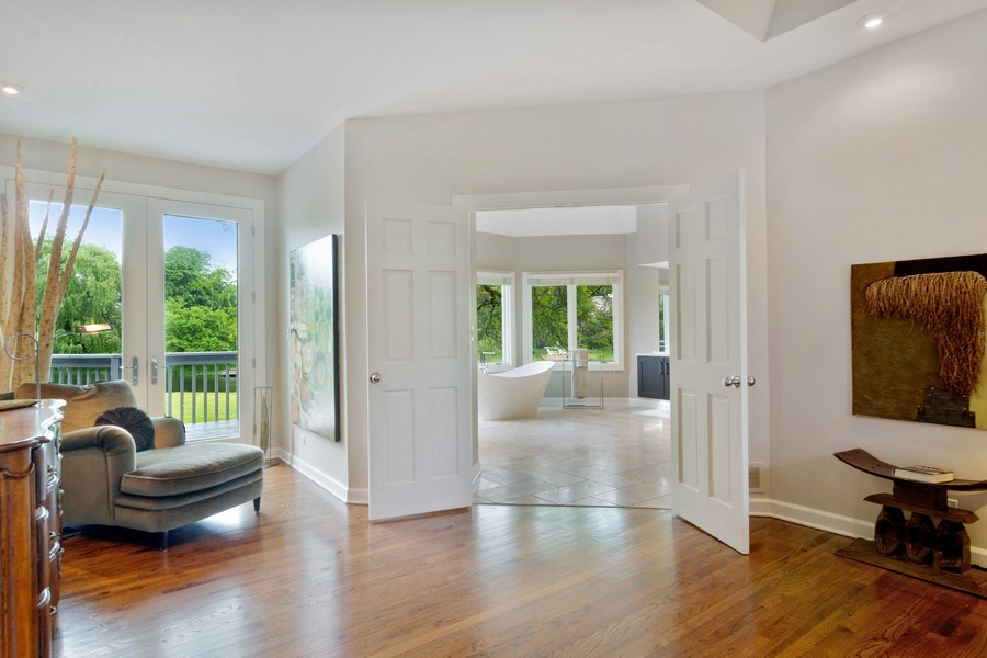 Real Estate Photography - 20823 North Meadow Court, Deer Park, IL, 60010 - Master Bedroom