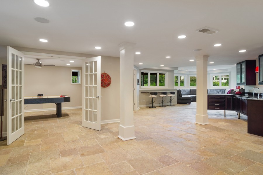 Real Estate Photography - 20823 North Meadow Court, Deer Park, IL, 60010 - Basement