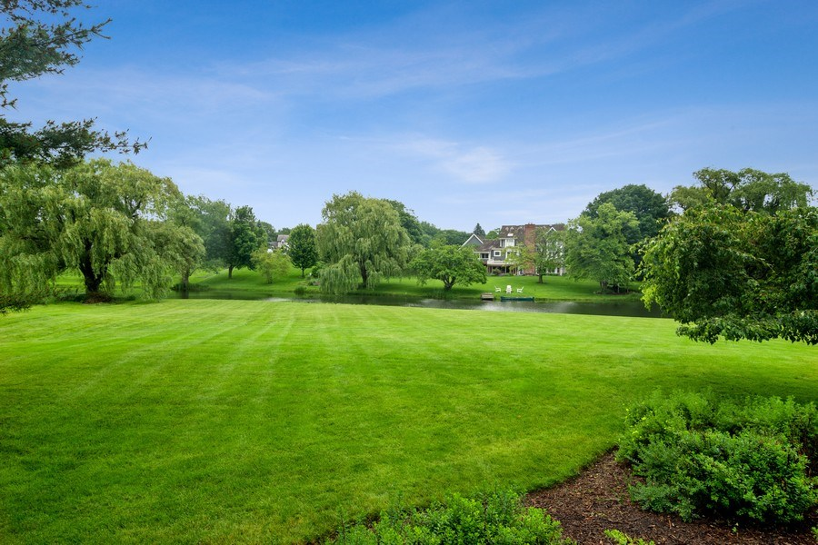 Real Estate Photography - 20823 North Meadow Court, Deer Park, IL, 60010 - Back Yard