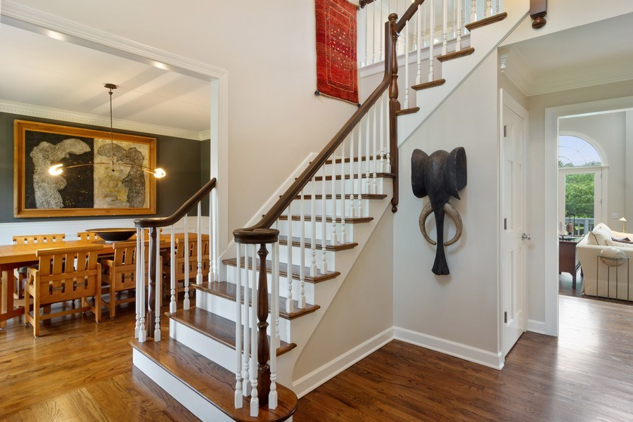 Real Estate Photography - 20823 North Meadow Court, Deer Park, IL, 60010 - Foyer