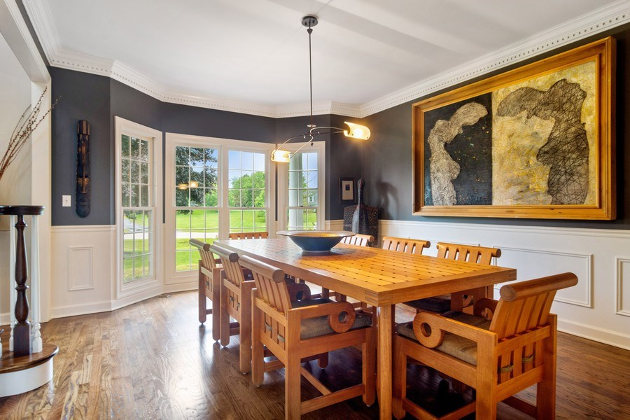 Real Estate Photography - 20823 North Meadow Court, Deer Park, IL, 60010 - Dining Area