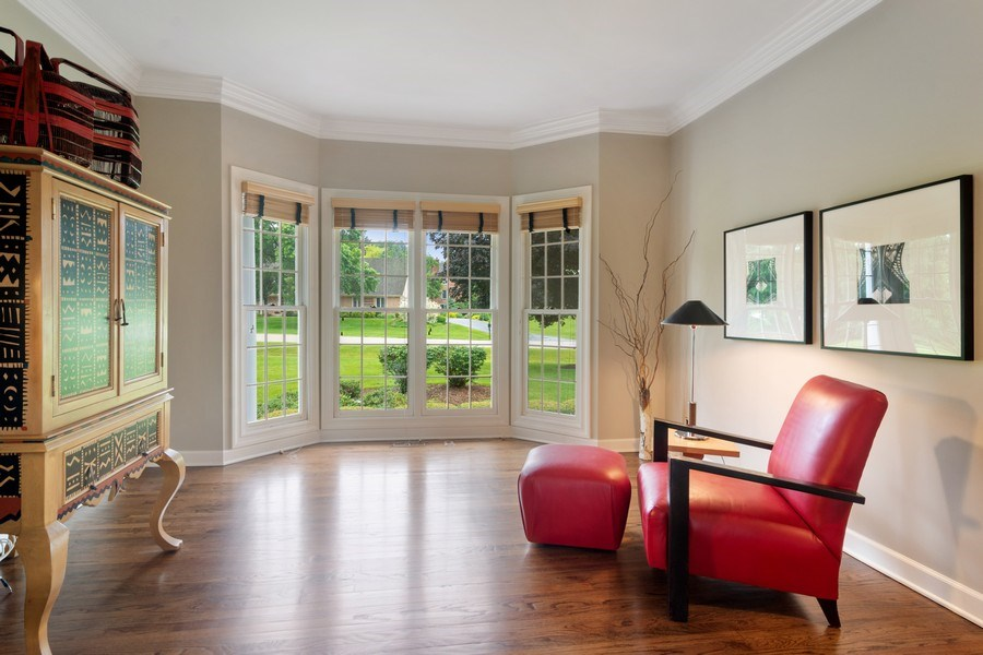 Real Estate Photography - 20823 North Meadow Court, Deer Park, IL, 60010 - Office