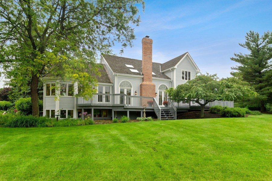 Real Estate Photography - 20823 North Meadow Court, Deer Park, IL, 60010 - Rear View