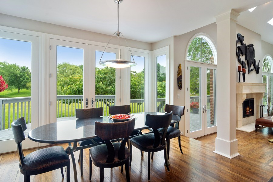 Real Estate Photography - 20823 North Meadow Court, Deer Park, IL, 60010 - Breakfast Nook