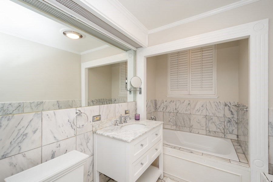 Real Estate Photography - 222 E Chestnut Street, #6B, Chicago, IL, 60611 - Master Bathroom