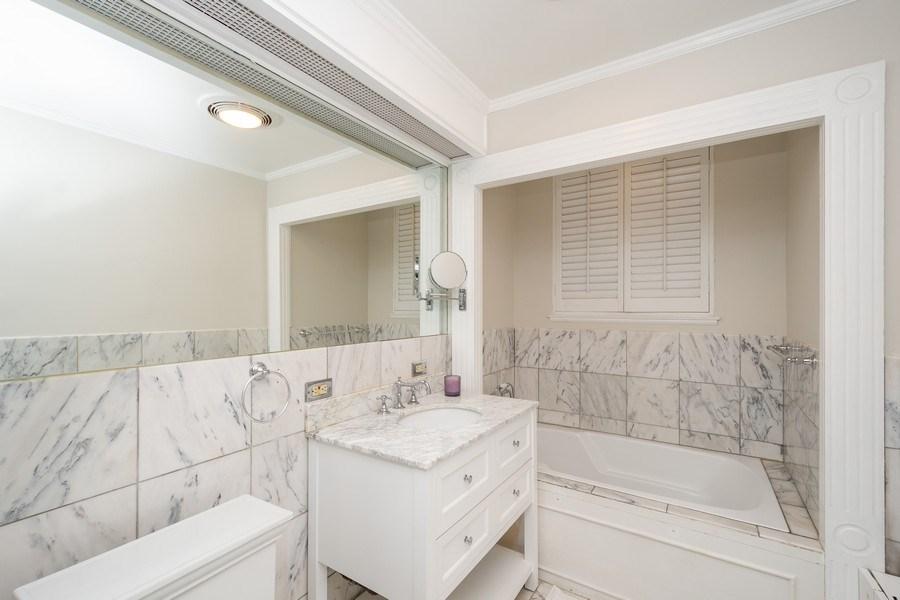 Real Estate Photography - 222 E Chestnut Street, #6B, Chicago, IL, 60611 - Master Bathroom