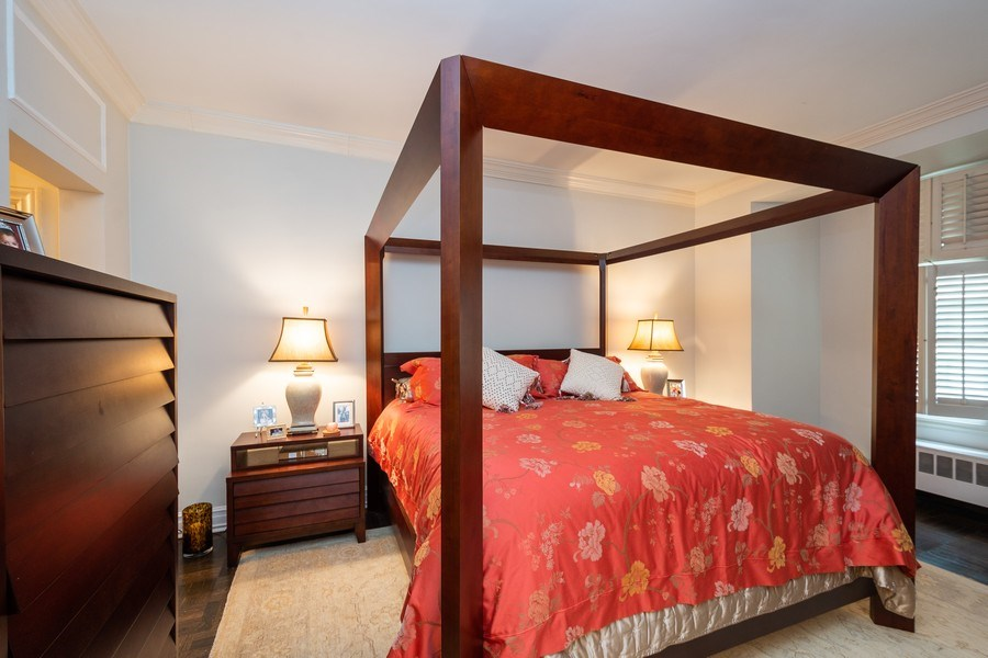Real Estate Photography - 222 E Chestnut Street, #6B, Chicago, IL, 60611 - Master Bedroom