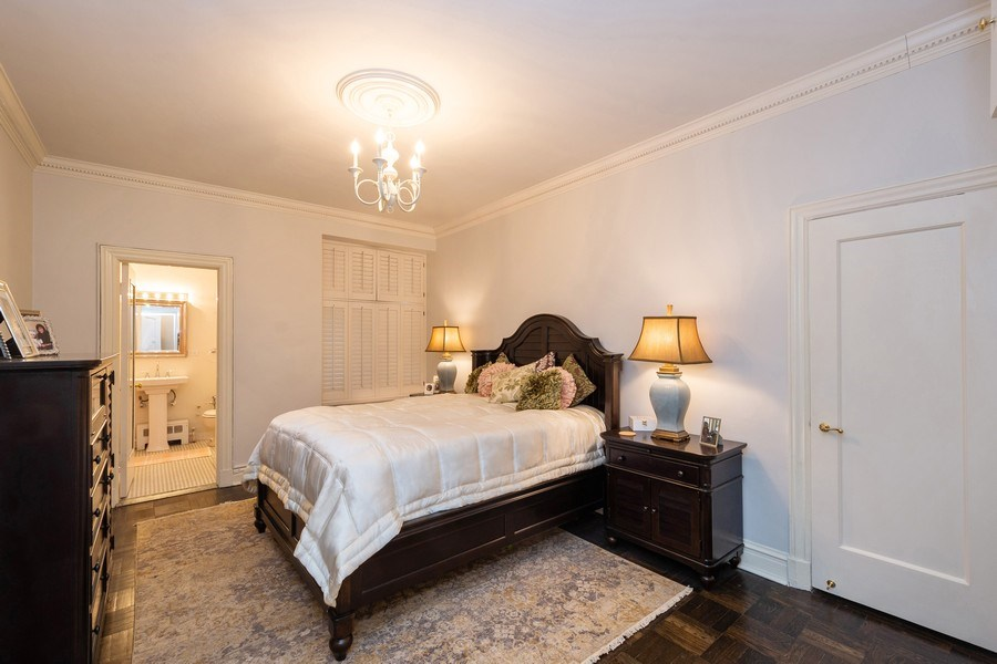 Real Estate Photography - 222 E Chestnut Street, #6B, Chicago, IL, 60611 - Bedroom
