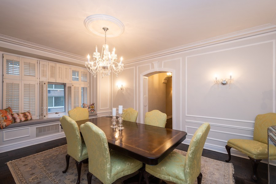 Real Estate Photography - 222 E Chestnut Street, #6B, Chicago, IL, 60611 - Dining Room