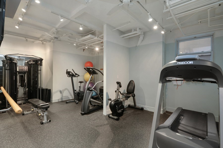 Real Estate Photography - 222 E Chestnut Street, #6B, Chicago, IL, 60611 - Fitness Center