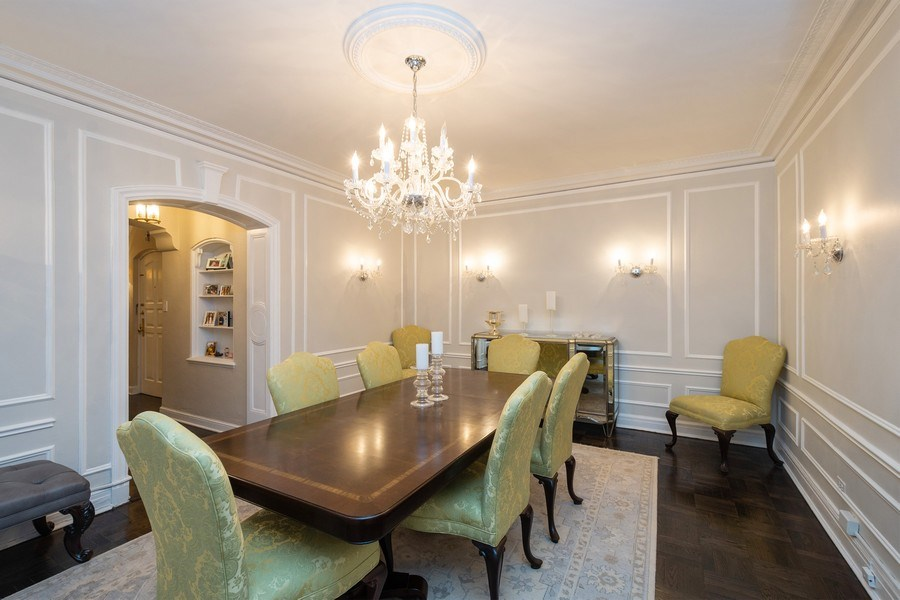 Real Estate Photography - 222 E Chestnut Street, #6B, Chicago, IL, 60611 - Dining Area