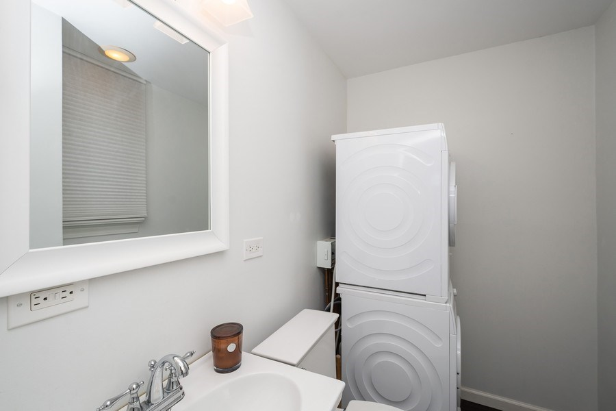 Real Estate Photography - 222 E Chestnut Street, #6B, Chicago, IL, 60611 - Half Bath