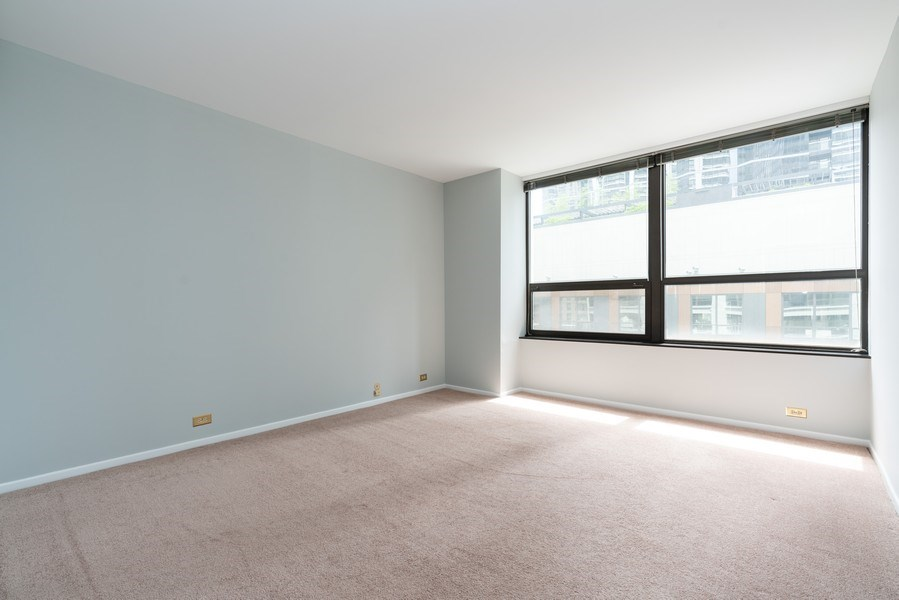 Real Estate Photography - 400 E Ohio St, Unit 604, Chicago, IL, 60611 - 2nd Bedroom