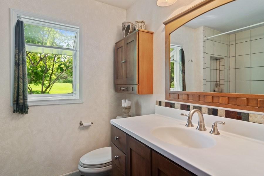 Real Estate Photography - 102 Mohawk Drive, North Barrington, IL, 60010 - Master Bathroom
