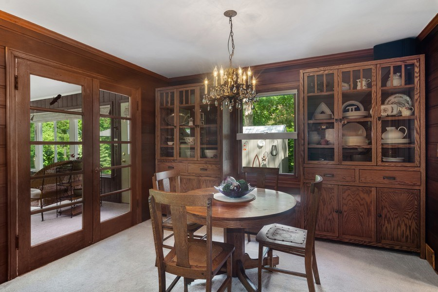 Real Estate Photography - 102 Mohawk Drive, North Barrington, IL, 60010 - Dining Room