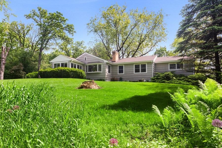 Real Estate Photography - 102 Mohawk Drive, North Barrington, IL, 60010 - Rear View