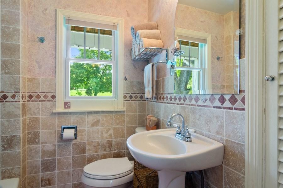 Real Estate Photography - 102 Mohawk Drive, North Barrington, IL, 60010 - Bathroom