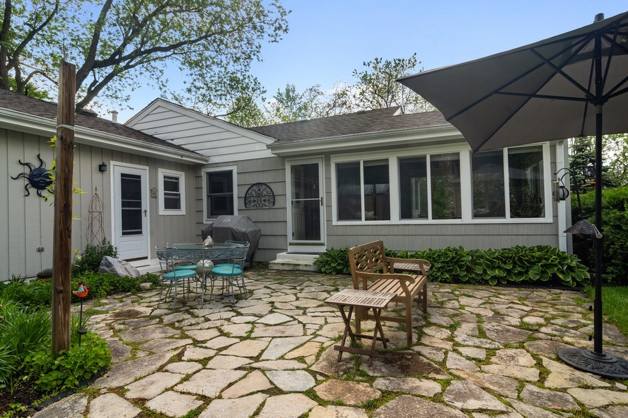 Real Estate Photography - 102 Mohawk Drive, North Barrington, IL, 60010 - Patio